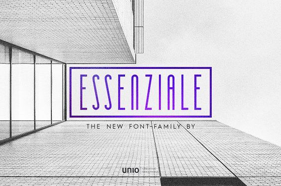 Essenziale - Font Family @creativework247