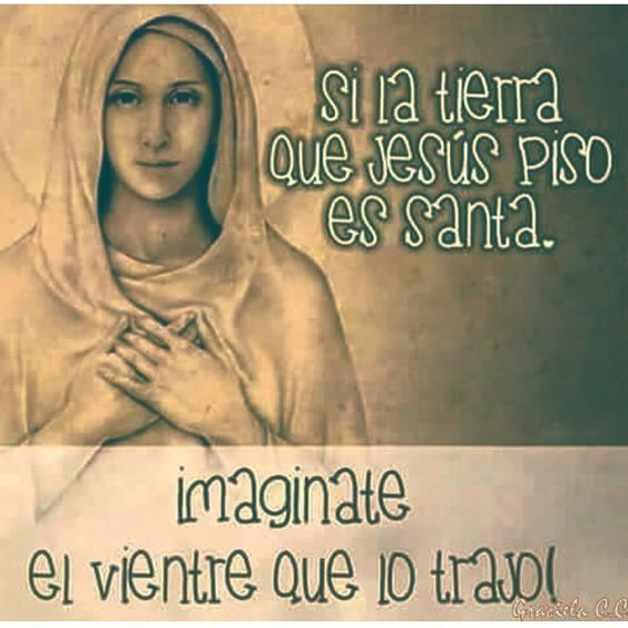 """""""Oh dulce Virgen María, ruega por nosotros Santa Madre de Dios para que seamos dignos de alcanzar las promesas y gracias de Nuestro Señor Jesucristo. Amén"""""""