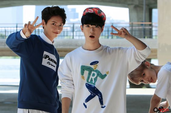 UP10TION Bitto and Wei UP10TION Pinterest Kpop