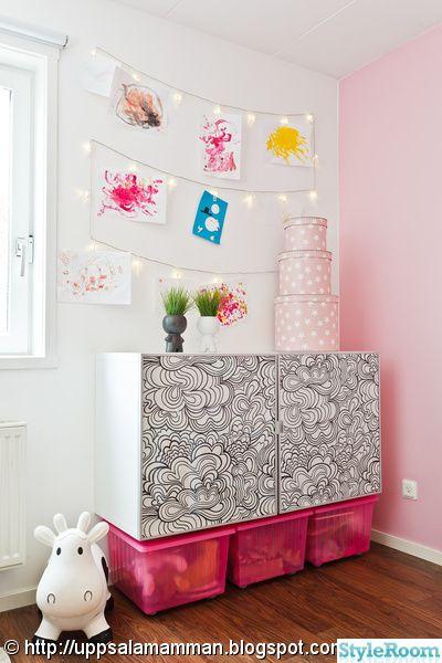 Barnrum barnrum ljusslinga : förvaring,barnrum,mairo blomma,mairo,ljusslinga | Inspiration ...