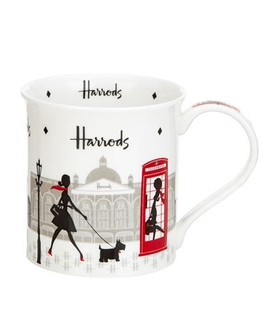 Harrods London Lady Mug available to buy at Harrods. Shop Harrods souvenirs online & earn reward points.