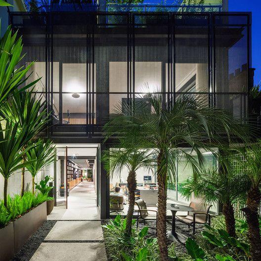 Casa no Jardim Paulistano,© Nelson Kon