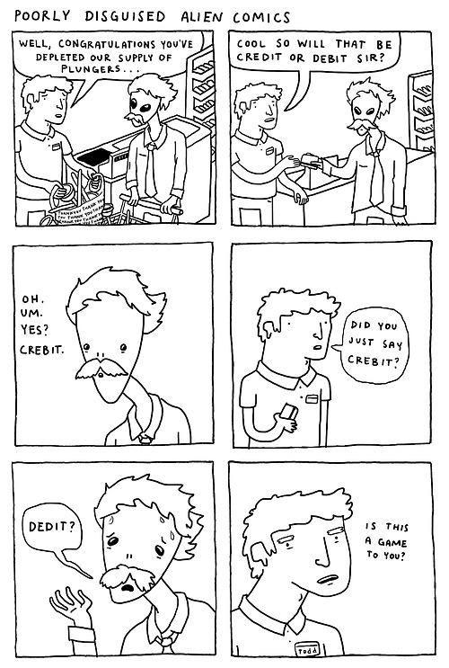 Alien comic blah