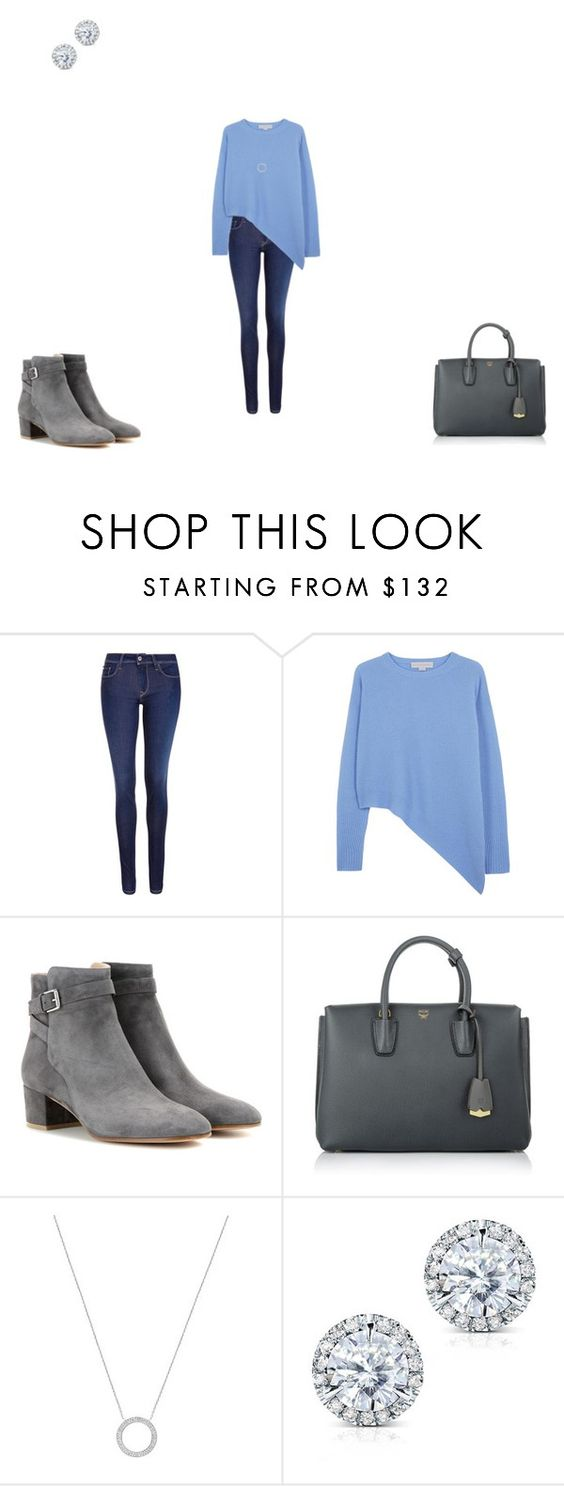 """""""Untitled #2641"""" by nikkiflute14 ❤ liked on Polyvore featuring Salsa, STELLA McCARTNEY, Gianvito Rossi, MCM, Michael Kors and Kobelli"""