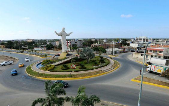 Huaquillas is a commercial city in sotuhern Ecuador