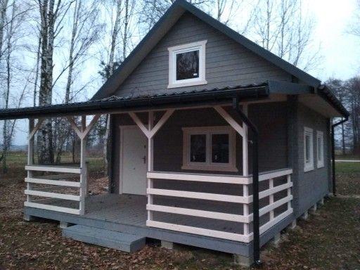 Domy Z Drewna Drewniane Domki Letniskowe Promocja 6541397650 Oficjalne Archiwum Allegro Outdoor Structures Tiny House Structures