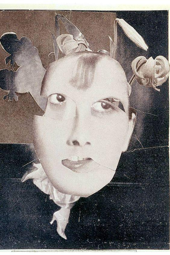 """Hannah Höch: Aller Anfang ist DADA - """"Englische Tänzerin"""", 1928 - Collage"""