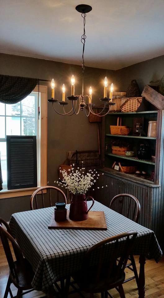 Pinterest Primitive Country Decorating Ideas Primitivecountrydecorating Dining Rooms Rustic Room Kitchen Decor