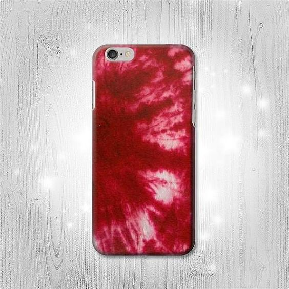 Tie Dye Red iPhone 6S 6 Plus 6 5 5S 5C 4 4S Htc One by Lantadesign
