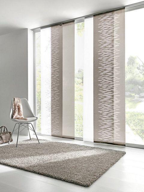Heine Home Schiebevorhang In Scherli Qualitat In 2020 Sliding Curtains Curtains Childrens Room