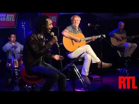 Daby Toure & Maxime Le Forestier - San Francisco en live sur RTL et en hd - YouTube