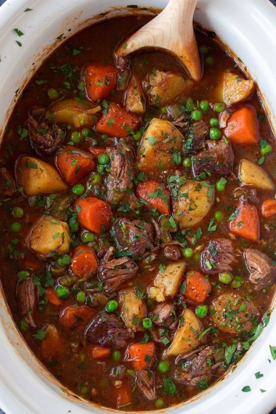 Slow Cooker Beef Stew - Cooking Classy