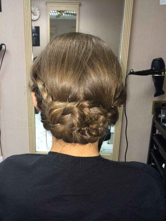 Simple summer hair do