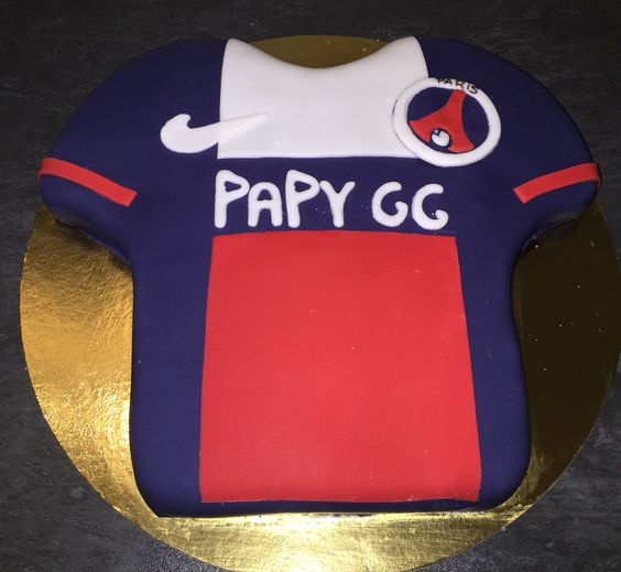 #birthday #cake #maillot #PSG
