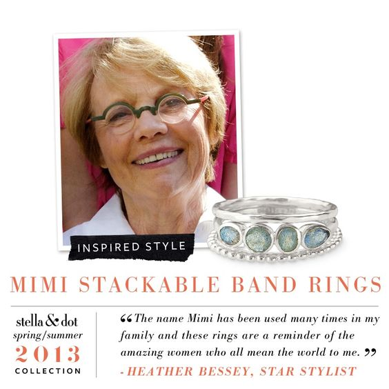 Mimi Stackable Rings by Stella & Dot