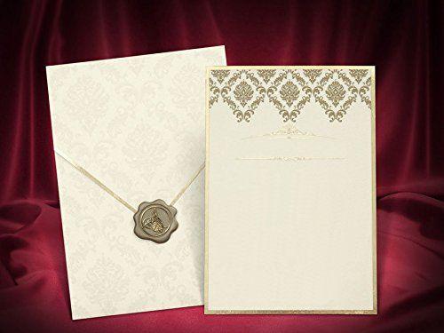 Toll 25 Stk. Hochzeitseinladungskarten Set Einladung Hochzeitseinladung  Grusskarten, Blanko Ohne Text Und Druck Einladungskarten #hochzeitskarten  #hochzu2026