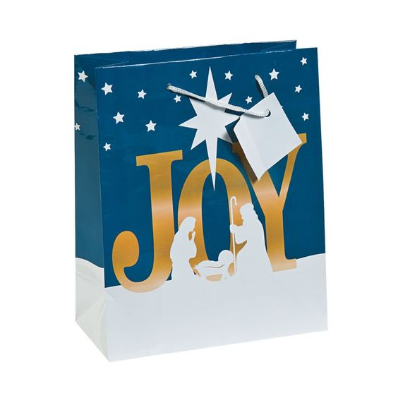 Joy Nativity Gift Bags