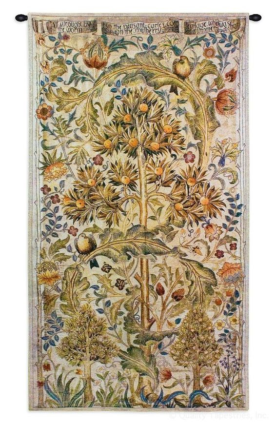 Summer Quince Wall Tapestry