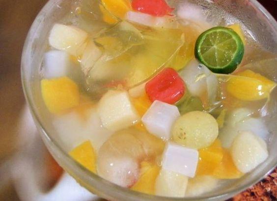 3 Resep Minuman Segar Terpopuler Es Puding Buah Sup Buah Dan Es Coktail Resep Buah Segar Resep Minuman Hidangan Penutup