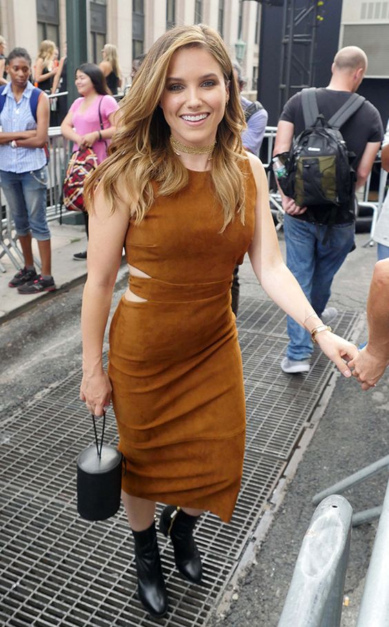 Sophia Bush: New York Fashion Week Spring 2017: Star Sightings