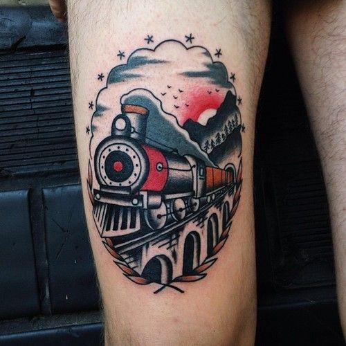 al-od:  #witchwood #witchwoodtattoo #tattoo #traditional...