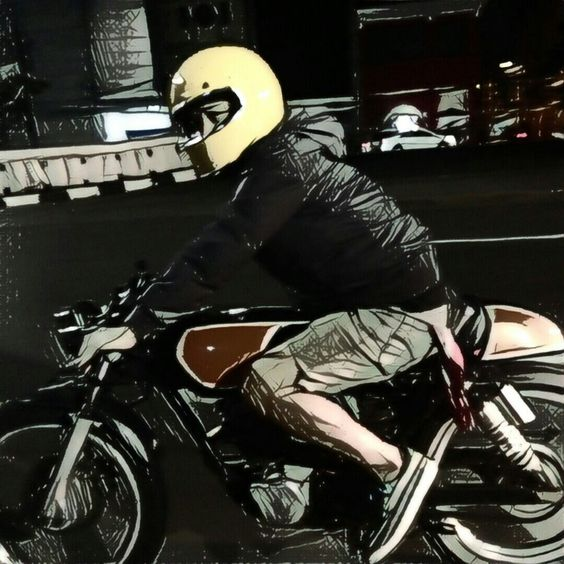 Cafe racer #hondagl #classicparkingonly #jakarta