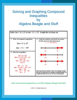 Solving Compound Inequalities Worksheet Kuta - solving compound ...