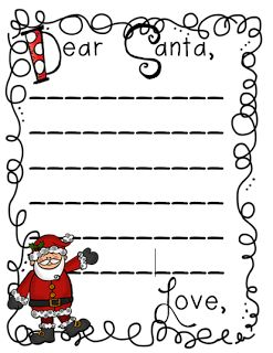 af94a8c2a4429c9e9fb4e001fb4c42c6 Dear Santa Letter Template Printable Kindergarten on stationery free, black free,