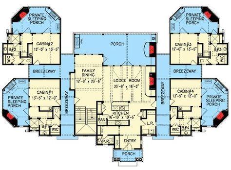 Plan 15880ge Couples Mountain Retreat Family House Plans Mountain House Plans Floor Plans