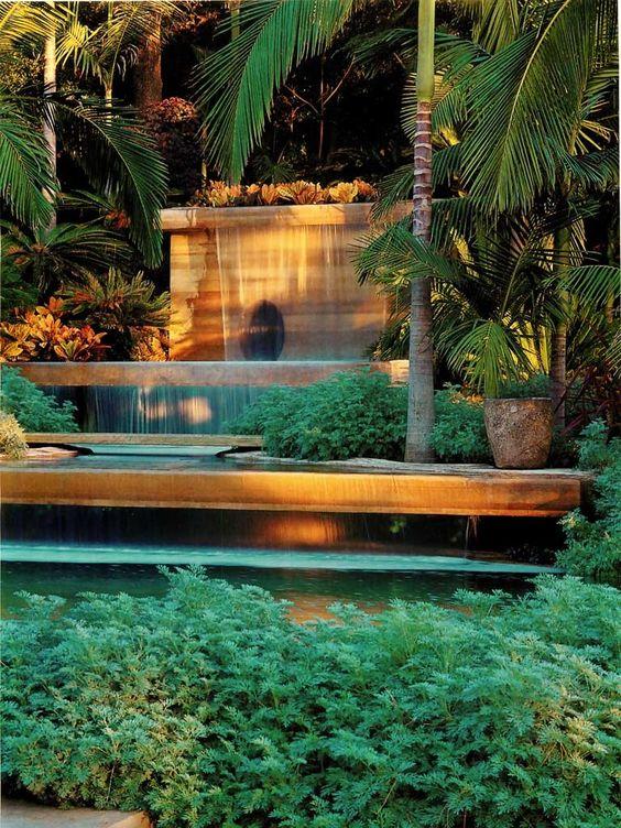 Cascatas em Jardim