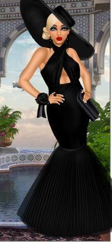 Mannequin has put together an elegant outfit for her diva. Dress Up Games   Diva Chix: