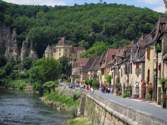 La Roque-Gageac, en Dordogne