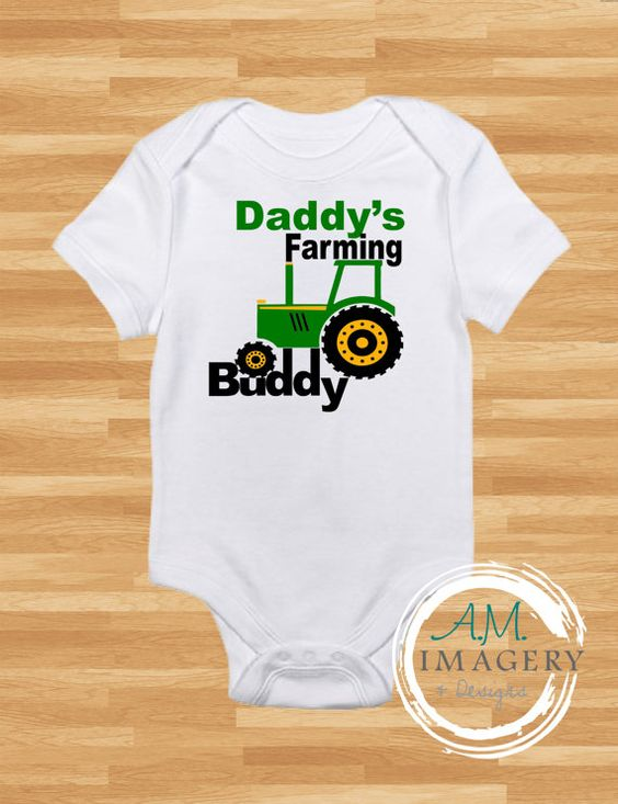 Check out this item in my Etsy shop https://www.etsy.com/listing/270646682/daddysgrandpas-farming-buddy-onesie
