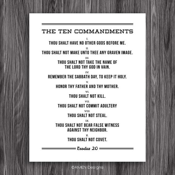 10 commandments of dating pdf Division of the ten commandments by religion & denomination ten commandments - jewish (talmudic) i am the lord your god you shall have no other gods before me.
