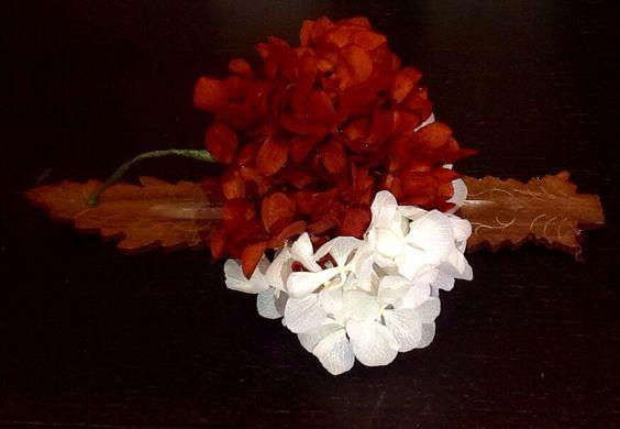 Ramilletes Feria con Hortensias naturales