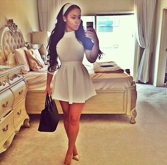 J adore long dresses simple