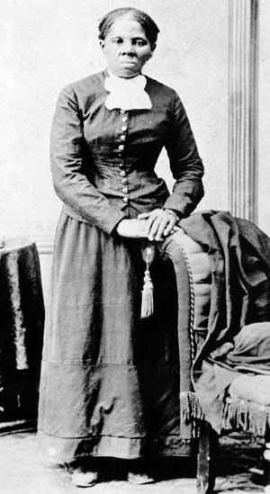 """""""When I found that I crossed that line, I looked at my hands to see if I was the same person. There was such glory over everything; the sun came like gold through the trees, and over the fields, and I felt like I was in Heaven."""" - Harriet Tubman"""