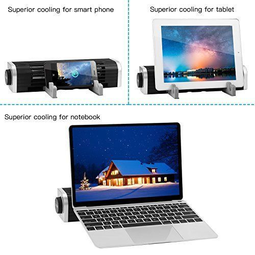 Laptop Cooling Pad Speed Control Cooling Cross Flow Fan Tablet