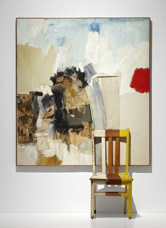 Robert Rauschenberg, Pilgrim, 1960. [Art © Robert Rauschenberg Foundation/Licensed by VAGA, NYC]
