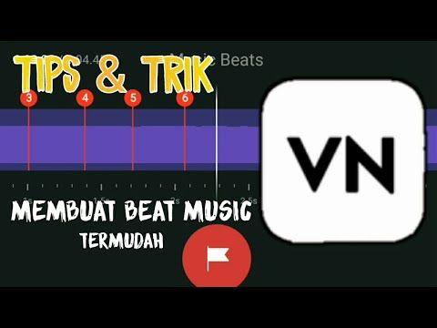 Cara Membuat Beat Music Di Aplikasi Vn Youtube Youtube Video Aplikasi