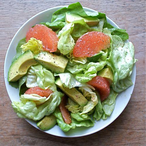 ... Grapefruit and Smooth Avocado   Recipe   Avocado Salads, Vinaigrette
