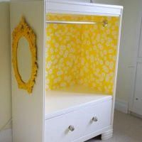 Dresser Repurposed {Chests} - could turn old dresser into a dress up closet for Natalie with one drawer left on bottom for shoes, wands and tiaras. :)