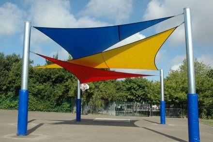 Overlapping triangular canopy - Vele ombreggianti ikea ...