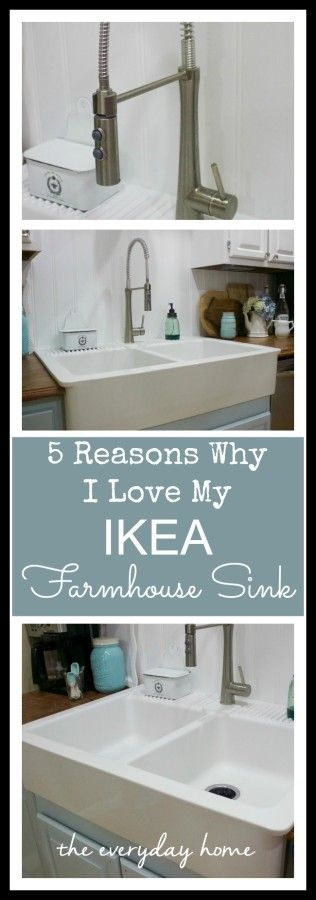 Ikea Poang Chair Apartment Therapy ~   everydayhomeblog com  Ikea Farmhouse Sink, Farmhouse Sinks and Sinks