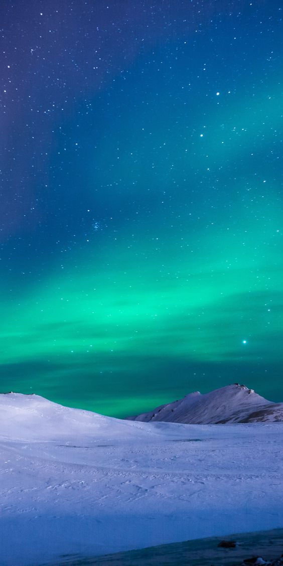 Pin On Background Iphone Wallpaper Beautiful northern lights wallpaper for