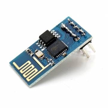 This chip ESP8266 ESP-01 Remote Serial Port WIFI Transceiver Wireless Module (Sale-Banggood.com) can be transformed in a GPIO controller with this firmware: https://github.com/nodemcu/nodemcu-firmware
