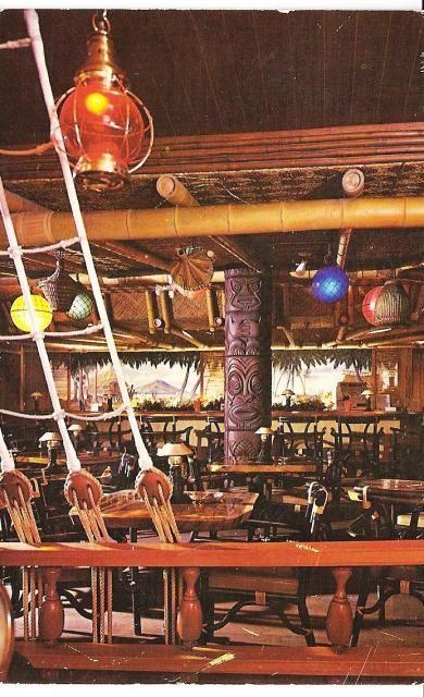 Kona Kai, Philadelphia, PA (restaurant) -- Tiki Central  | Repinned by Temple Towels, www.templetowels.com