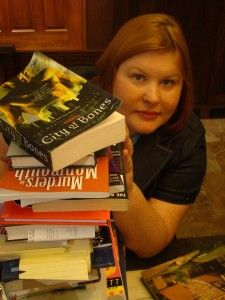Cassandra Clare. Click on the photo to see what items we have at Otis Library.