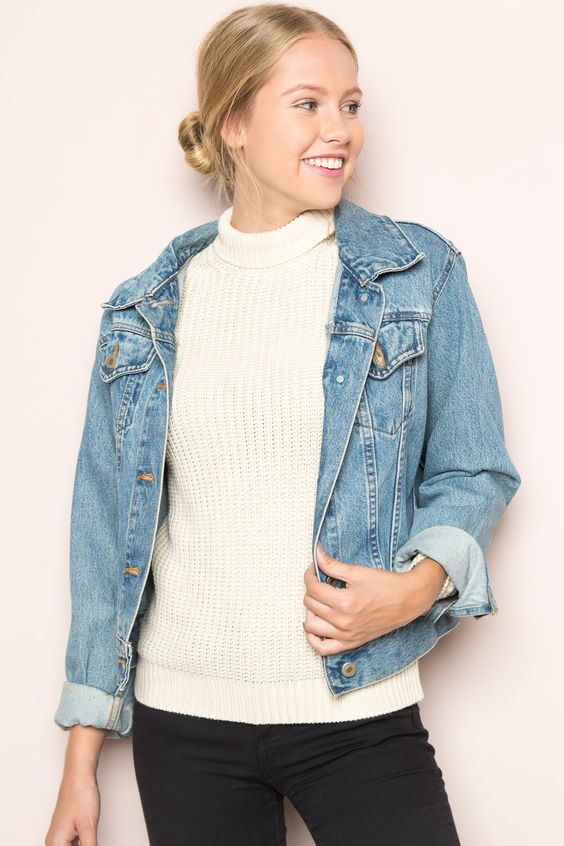 Brandy ♥ Melville | Georgia Turtleneck Sweater - Clothing
