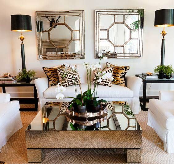 Ideas For Decorating Glass Coffee Table Apartment Decor Home House Interior
